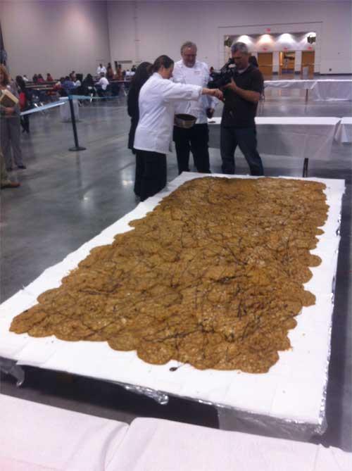 world's largest pecan praline