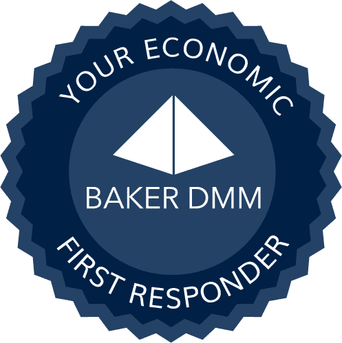 Baker DMM Daily Money Management Services and Financial Caregiving for Seniors Financial Caregiver Badge