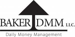 Baker DMM logo daily money and wealth management services