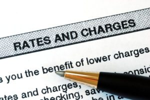 rates and charges bank statement sign of identity theft