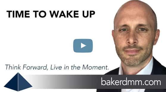 Time to Wake Up Baker DMM Chris Baker Video Blog